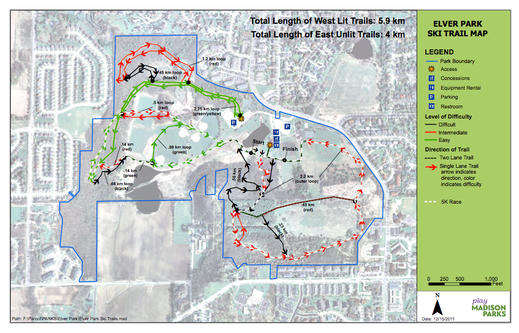 Race Course Map